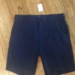 Men's shorts. J. Crew. Navy size 30 waist.